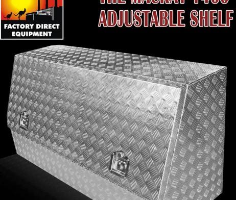 FDE 2MM Aluminium Toolbox Ute Tool Box